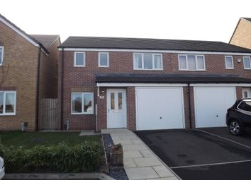 Thumbnail 3 bed semi-detached house to rent in Woolf Drive, Biddick Green, South Shields