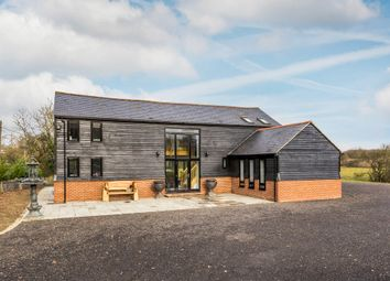 Thumbnail 5 bed barn conversion for sale in Crab Hill Lane, South Nutfield, Redhill