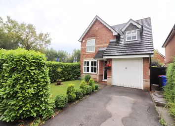 Thumbnail 3 bed detached house for sale in Bleasefell Chase, Worsley, Manchester