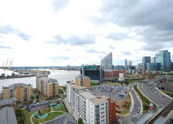 Thumbnail 1 bedroom flat to rent in Proton Tower, East India, Virginia Quays, Blackwall, Canary Wharf, London