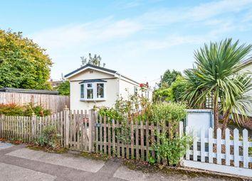 Thumbnail 2 bed mobile/park home for sale in Poplar Park, Long Wittenham, Abingdon