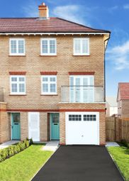 Thumbnail 4 bed end terrace house for sale in Harbour Village, Off Amounderness Way, Fleetwood
