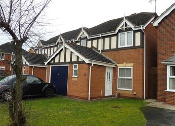 Thumbnail 3 bed detached house to rent in Wilson Close, Thorpe Astley, Leicester