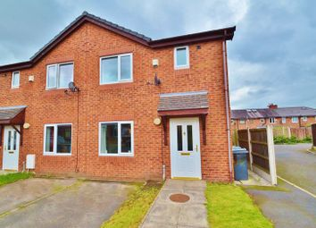 Thumbnail 3 bedroom semi-detached house for sale in Higher Croft, Eccles, Manchester