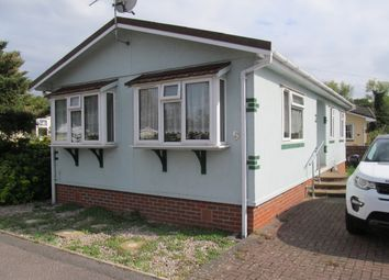 Thumbnail 1 bed mobile/park home for sale in Fordbridge Park (Ref 6003), Sunbury On Thames
