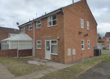 Thumbnail End terrace house for sale in Over Brunton Close, Birmingham