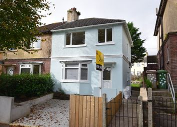 Thumbnail 3 bedroom semi-detached house for sale in Halcyon Road, Plymouth