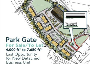 Thumbnail Light industrial to let in Plot G, Stonehouse Park, Stonehouse