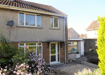 Thumbnail 3 bedroom semi-detached house for sale in Litchard Cross, Bridgend