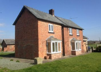 Thumbnail 3 bed detached house to rent in Babbinswood, Whittington, Oswestry
