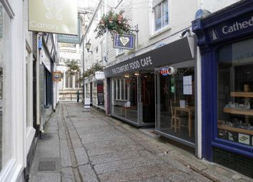 Thumbnail Restaurant/cafe for sale in The Comfort Food Cafe, 11, Cathedral Lane, Truro