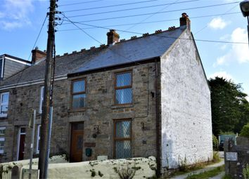 Thumbnail 3 bed end terrace house for sale in Fore Street, Praze, Camborne, Cornwall