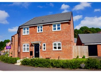 Thumbnail 3 bed detached house for sale in Fielders Drive, Leicester