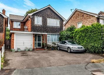 Thumbnail 4 bed detached house for sale in Leaford Crescent, Watford, Herts