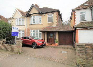 Thumbnail 3 bed semi-detached house for sale in Upper Brentwood Road, Romford