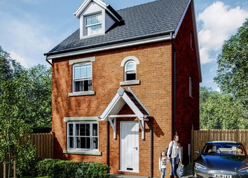 Thumbnail 4 bed detached house for sale in Plot 18, Maes Helyg, Vicarage Road, Llangollen