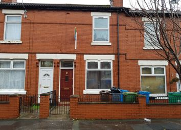 Thumbnail 2 bed terraced house to rent in Wellington Road, Crumpsall, Manchester