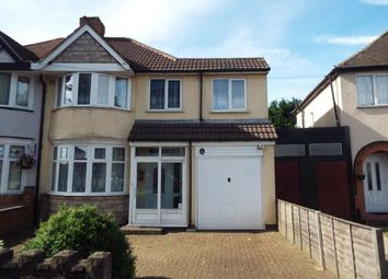 Thumbnail 4 bed semi-detached house for sale in Horrell Road, Birmingham, West Midlands