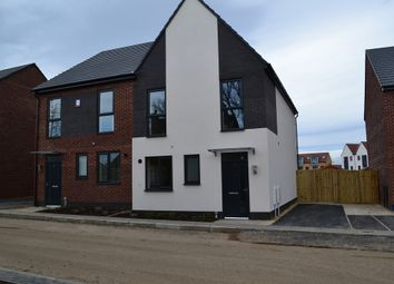 Thumbnail 3 bed semi-detached house to rent in Clover Way, South Elmsall, Pontefract