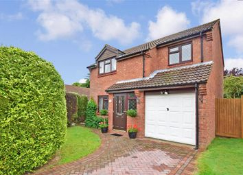 Thumbnail 4 bed detached house for sale in Scarlett Close, Lords Wood, Chatham, Kent