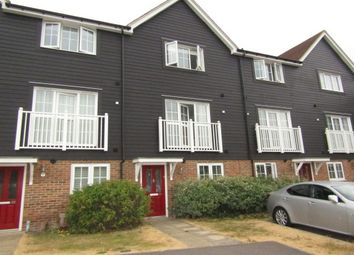 Thumbnail 4 bed town house to rent in Poynder Drive, Snodland