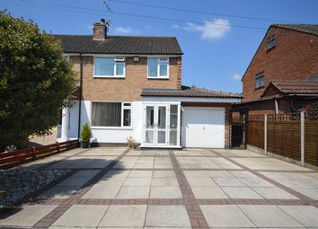 Thumbnail 3 bed semi-detached house for sale in Modbury Close, Styvechale, Coventry