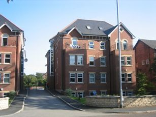Thumbnail 1 bed flat to rent in Palatine Road, Didsbury