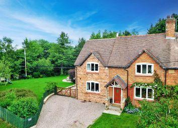 Thumbnail 4 bed semi-detached house for sale in Church Lane, Doddington, Nantwich