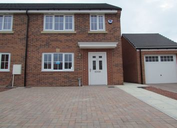 Thumbnail 2 bedroom terraced house for sale in Roedeer Court, Wideopen, Newcastle Upon Tyne