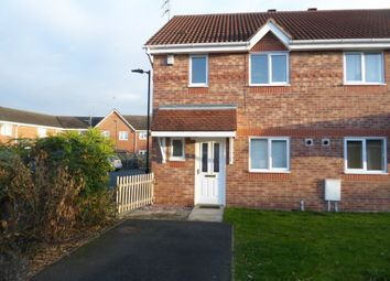 Thumbnail 3 bed terraced house to rent in Elgar Close, Huntington, York