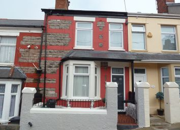 Thumbnail 2 bedroom terraced house for sale in St. Oswalds Road, Barry