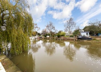 Thumbnail 3 bed bungalow for sale in Wheatleys Eyot, Sunbury-On-Thames, Surrey