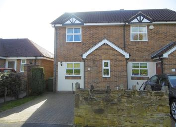 Thumbnail 2 bed semi-detached house for sale in Broomfield Avenue, Hasland, Chesterfield