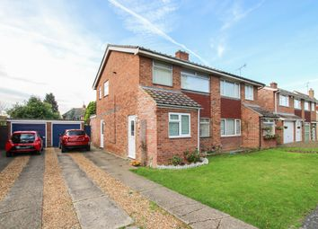 Thumbnail 3 bed semi-detached house for sale in Ashley Way, Sawston, Cambridge