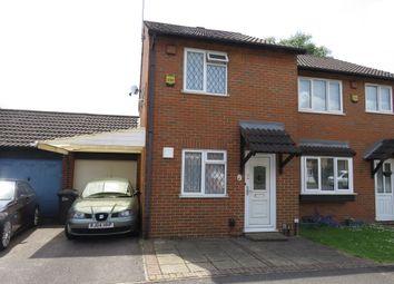 Thumbnail 2 bed semi-detached house for sale in Bridlington Spur, Cippenham, Slough