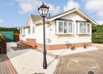 Thumbnail 2 bed mobile/park home for sale in Kingsmead Rymer Court, Barnham, Thetford, Norfolk
