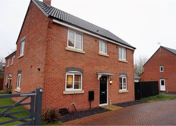 Thumbnail 3 bed detached house for sale in Howden Close, Coalville