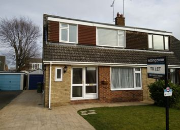Thumbnail 3 bed semi-detached house to rent in Jobsons Close, South Cave, Brough