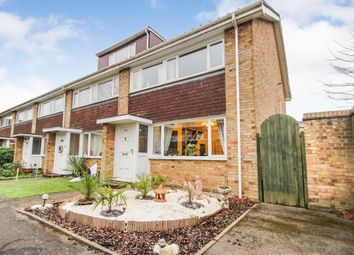Thumbnail 3 bed end terrace house for sale in Tufton Gardens, Hurst Park, West Molesey
