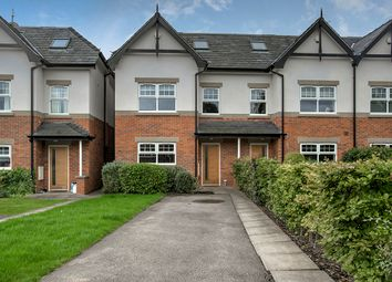Thumbnail 4 bed mews house for sale in 3 Wellfield Place, Wilmslow