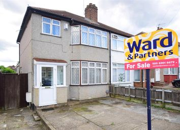 Thumbnail 3 bed semi-detached house for sale in Bradenham Avenue, Welling, Kent