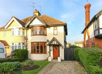 Thumbnail 3 bed semi-detached house for sale in Thurston Park, Whitstable