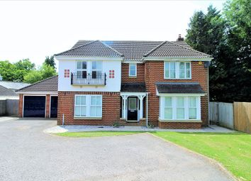 Thumbnail 5 bed detached house for sale in Abergavenny Gardens, Copthorne, Crawley, West Sussex.