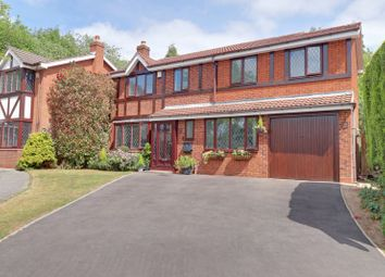Thumbnail 5 bed detached house for sale in High Land Road, Upper Stonnall, Walsall