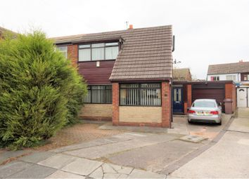Thumbnail 3 bed semi-detached house for sale in Darvel Avenue, Wigan