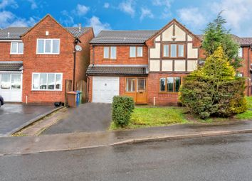 Thumbnail 4 bed detached house for sale in Hamilton Close, Wimblebury, Cannock