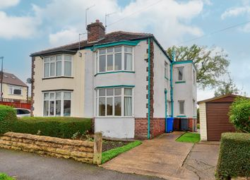 Thumbnail 3 bed semi-detached house for sale in Downing Road, Sheffield