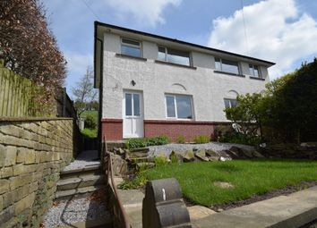 Thumbnail 2 bed semi-detached house for sale in Ing Head Road, Slaithwaite, Huddersfield