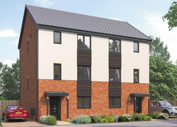 "Thumbnail 4 bed semi-detached house for sale in ""The Uxbridge"" at Highfield Lane, Rotherham"