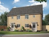 Thumbnail 3 bed semi-detached house for sale in The Raphael At St James Park, Off Cam Drive, Ely